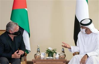 ملك الأردن وولي عهد أبوظبي يبحثان القضايا العربية والإقليمية
