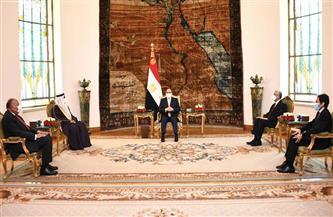 الرئيس السيسي: الخطوط المعلنة تجاه التدخلات الخارجية بليبيا هدفها الحفاظ على المسار السياسي
