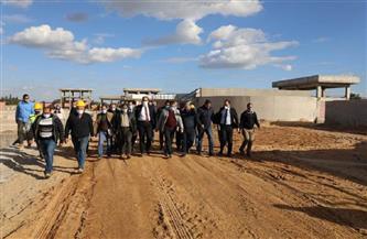 محافظ المنوفية يتفقد مشروع محطة معالجة صرف الخطاطبة وكفر داود بالسادات | صور