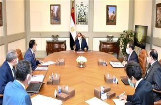 الرئيس السيسي يستعرض مخطط إنشاء مدينة متكاملة لصناعة وتجارة الذهب في مصر