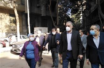 رئيس حي غرب القاهرة: تطوير منطقة جاردن سيتي ورفع كفاءتها
