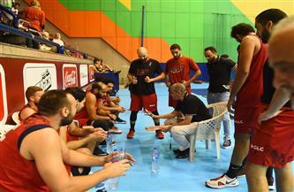 الأهلي يفوز على جزيرة الورد في دوري سوبر السلة