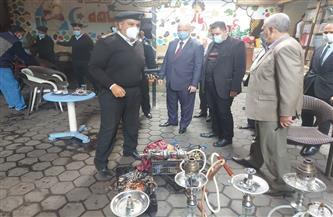 محافظ القاهرة يستدعي أجهزة حي روض الفرج لضبطه مخالفات ويغلق سناتر تعليمية بمدينة نصر | صور