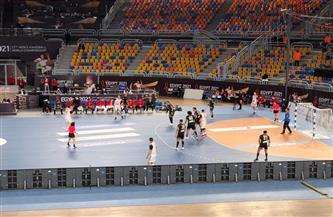 انطلاق لقاء منتخب مصر ومقدونيا في مونديال كرة اليد