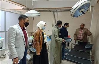 مستشفى قوص المركزي بقنا يتسلم معدات طبية جديدة | صور