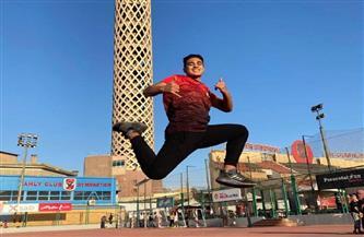 فوز عمر هاشم ببطولة الجمهورية لألعاب القوى | صور