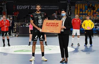 حسن قداح أفضل لاعب في لقاء مصر ومقدونيا بمونديال اليد