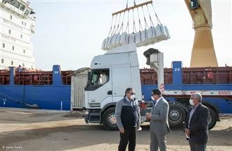 تصدير 1100 طن أسمنت و13630 طن يوريا و9063 طن فوسفات