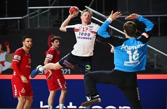 «ساجوسين» رجل مباراة النرويج وسويسرا بمونديال اليد