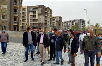 """مسئولو """"الإسكان"""" يتفقدون مشروعات مدينة المنيا الجديدة  صور"""
