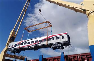 وصول 19 عربة سكة حديد جديدة إلى ميناء الإسكندرية |صور