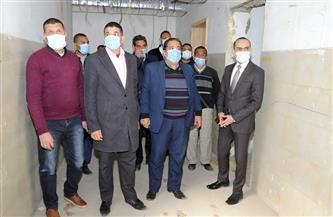 نائب محافظ سوهاج يتابع سير العمل بالمركز الحضري الطبي ويتفقد تجديد مستشفى جهينة المركزي|صور