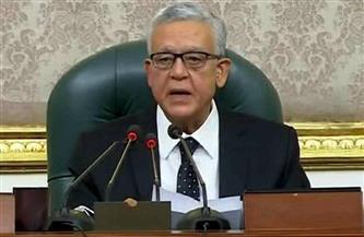 جبالي يُطالب النواب بعدم الجلوس على مقاعد الحكومة