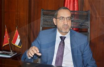 تكريم مؤمن مختار على هامش حفل افتتاح المقر الجديد لمعهد التأمين فى مصر