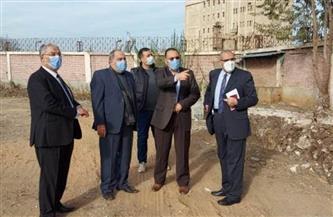 محافظ الشرقية يتفقد أعمال تغطية ورصف خليج أبو حاكم بالزقازيق | صور