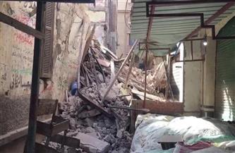 انهيار عقار قديم بالعطارين في الإسكندرية | صور