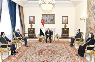 الرئيس السيسي يناقش سبل تفعيل اتفاقية التجارة الحرة القارية الإفريقية مع السكرتير العام للمنطقة