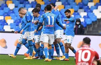 نابولي يكتسح فيورنتينا بنصف دستة أهداف فى الدوري الإيطالي