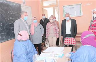 """جامعة طنطا: فحص 808 حالات في قافلة طبية بقرية """"الكرما"""" بالسنطة   صور"""