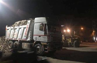 رفع 100 طن قمامة ومخلفات في حملات نظافة بأخميم