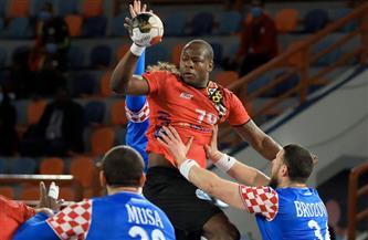 كرواتيا تتقدم على أنجولا 12/ 11 بالشوط الأول من مونديال اليد