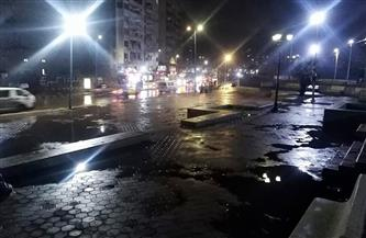 أمطار غزيرة تتواصل على الإسكندرية تزامنا مع نوة «الفيضة الكبرى» | صور