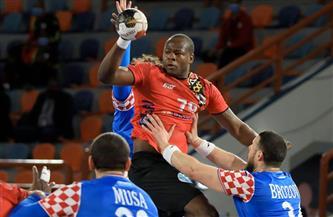 إيفان بيسيتش رجل مباراة كرواتيا وأنجولا ببطولة العالم لكرة اليد