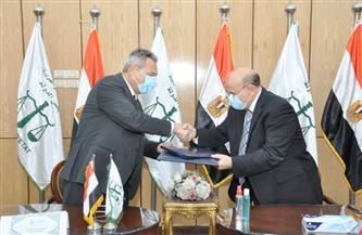 مجلس الدولة وبنك مصر يوقعان بروتوكولا لتفعيل منظومة التحصيل الإلكتروني | صور