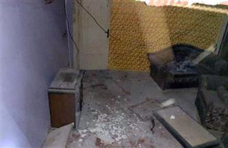 تسريب غاز يتسبب في انفجار وانهيار جزئي بعقار في طلخا بالدقهلية