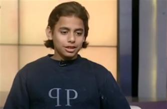 «أصغر باحث مصري».. ابتكر خوذة لقراءة أفكار مرضى الشلل الدماغي | فيديو