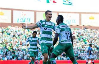 سانتوس لاجونا يتصدر الدوري المكسيكي بالفوز على تيجريس أونال