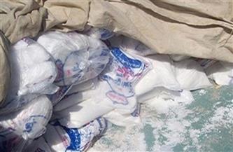 ضبط سيارة محملة بـ 1.6 طن ملح طعام مجهول المصدر قبل بيعها للمواطنين بسوهاج