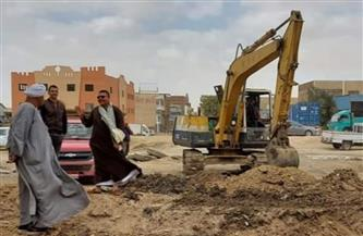 """رئيس مياه القناة: تغيير مسارات خطوط الشبكات على جانبي طريق """"السويس ـ الإسماعيلية""""   صور"""