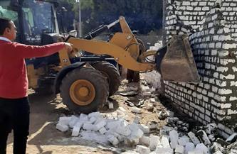 محافظ أسيوط: حملات لإزالة التعديات على الأراضي الزراعية والبناء المخالف في 4 مراكز | صور