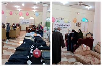 تنظيم معرض للأثاث المنزلي بالمجان وتوزيع ملابس على الأسر الأولى بالرعاية بـ5 قرى بالشرقية | صور
