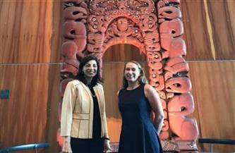 """سفيرة مصر في نيوزيلندا تلتقي الرئيس التنفيذي لمتحف """"تي بابا"""""""