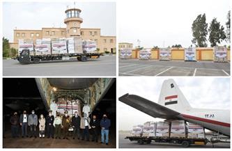 بتوجيهات من الرئيس السيسي.. مصر ترسل طائرة مساعدات طبية للأردن | فيديو
