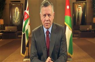 العاهل الأردني يعرب عن تقديره لجهود مصر الحثيثة في دعم القضية الفلسطينية