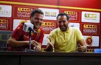 هيثم شعبان: نعاني من ضغط المباريات ولا أستعجل عودة صالح جمعة