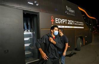 وصول «فراعنة اليد» إلى إستاد القاهرة لمواجهة السويد في بطولة العالم