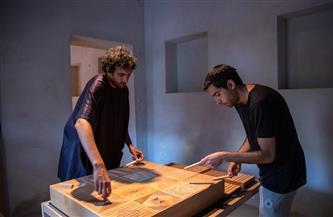 برنامج للإقامة الفنية بالتزامن مع معرض الفنان طارق عطوي | صور