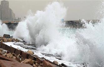 الأمواج تتجاوز الـ 6 أمتار فى البحر المتوسط.. والأرصاد تعلن الإنذار البحري