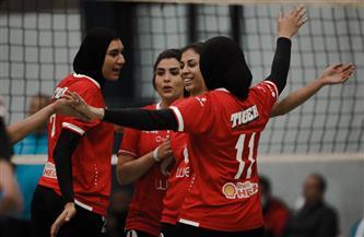 سيدات طائرة الأهلي يفوز على سبورتنج في  الدوري