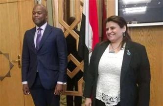 السفيرة سها الجندى: الحكومة مستعدة لدعم سكرتارية منطقة التجارة الحرة الإفريقية |صور