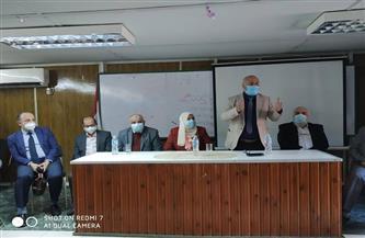 """""""صحة الغربية"""" تستعرض أبحاث وبروتوكولات علاج فيروس كورونا لمديري المستشفيات"""