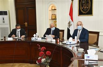 وزير الإسكان ومحافظ الجيزة يتابعان الموقف التنفيذي لمشروع تطوير عشش شارع السودان|صور
