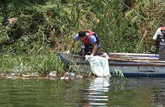 من أجل نهر أكثر نظافة.. صيادو «القرصاية» استخرجوا 3 أطنان مخلفات