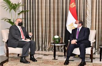 أهم الأنباء| الرئيس السيسي يلتقى رئيس الوزراء الأردني.. وتنسيق الشيوخ والنواب.. وقرعة مونديال الأندية