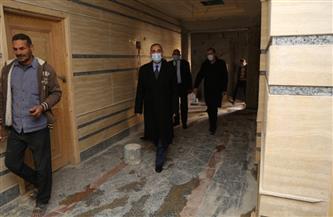 محافظ كفر الشيخ يوجه بتطوير أدوار المستشفى العام  صور