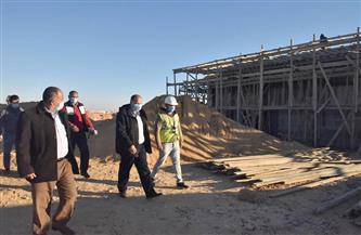 محافظ أسيوط يتفقد أعمال تنفيذ المحطة الانتقالية الوسيطة للمخلفات الصلبة بدشلوط | صور